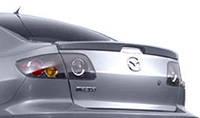 Лип-спойлер на багажник Mazda 3