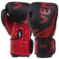 Перчатки для бокса и единоборств VENUM Challenger 3.0 PU 0866 Black-Red 12 унций