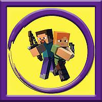 ⭐⭐⭐Аниматор Стив,Minecraft на детский День рождения в Киеве⭐⭐⭐