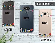 Силиконовый чехол для Samsung A405 Galaxy A40 BTS (БТС) (13022-3403), фото 3