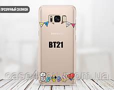 Силиконовый чехол для Samsung A405 Galaxy A40 BTS (БТС) (13022-3403), фото 2