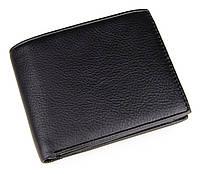Кожаный черный кошелек 8084A