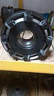 Фреза торцевая ф100 мм с механическим креплением 5- гранных пластин
