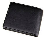 Кожаный кошелек Black Color 8086A, фото 2