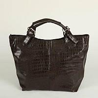 Женская сумка под кожу крокодила М51-13, фото 1