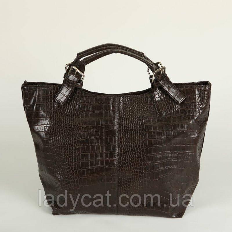 Женская сумка под кожу крокодила М51-13