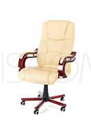 Крісло офісне Calviano Prezydent бежеве