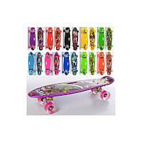 Скейт дитячий пенні з малюнком, фото 1