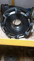 Фреза торцевая ф200 с механическим креплением 5-гранных пластин