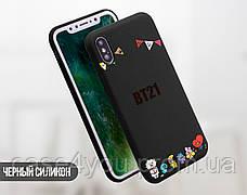 Силиконовый чехол для Xiaomi Mi A1 BTS (БТС) (31043-3403), фото 3