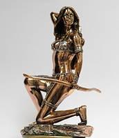 Статуэтка Диана с луком с медным покрытием 0079