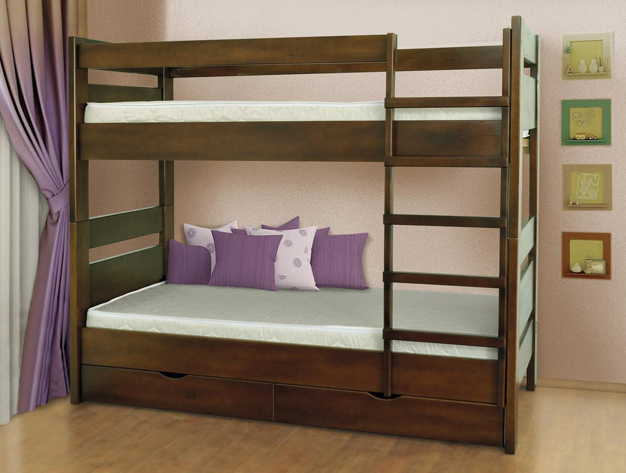 Кровать Селена 2-х ярусная (дерево) Летро