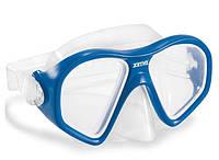 Маска для плавания Intex 55977, (14+), обхват головы ≈ 59 см, синяя