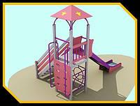 Детская площадка Башня 2