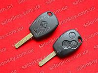 Ключ Renault 3 кнопки лезвие VA2 ID46 434Mhz.