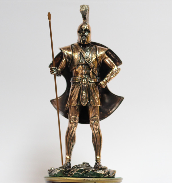 Статуэтки Воинов с медным покрытием