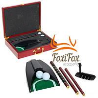 Набор мини гольфа с автолункой подарочный