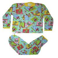 Пижама трикотажная детская, рост 80-86, 85\63