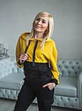 Модный спортивный костюм со штанами карго 42-56рр., фото 3