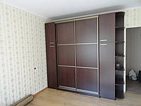 Шкаф-купе для гостинной с пиставным пеналом, фото 1
