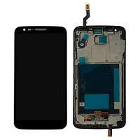 Дисплей (модуль) LG G2 D802 черный