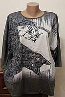 Кофта женская котики
