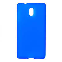 Чехол силиконовый для Nokia 3 (TA-1032) blue