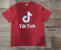 Футболка мужская Tik Tok Glo-story оптом, S-XXL рр. Артикул: MPO-D0110