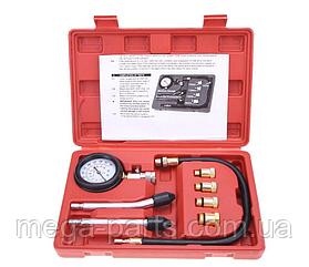 Компрессометр для бензиновых двигателей, с набором комплектующих
