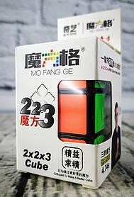 Кубик Рубика 2*2*3 Черный Cube QiYi MFG2003black Розумний кубик Украина