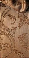 Ткань шторная с вензельным рисунком