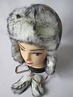 Зимние шапки из плащевки на искуственном меху.