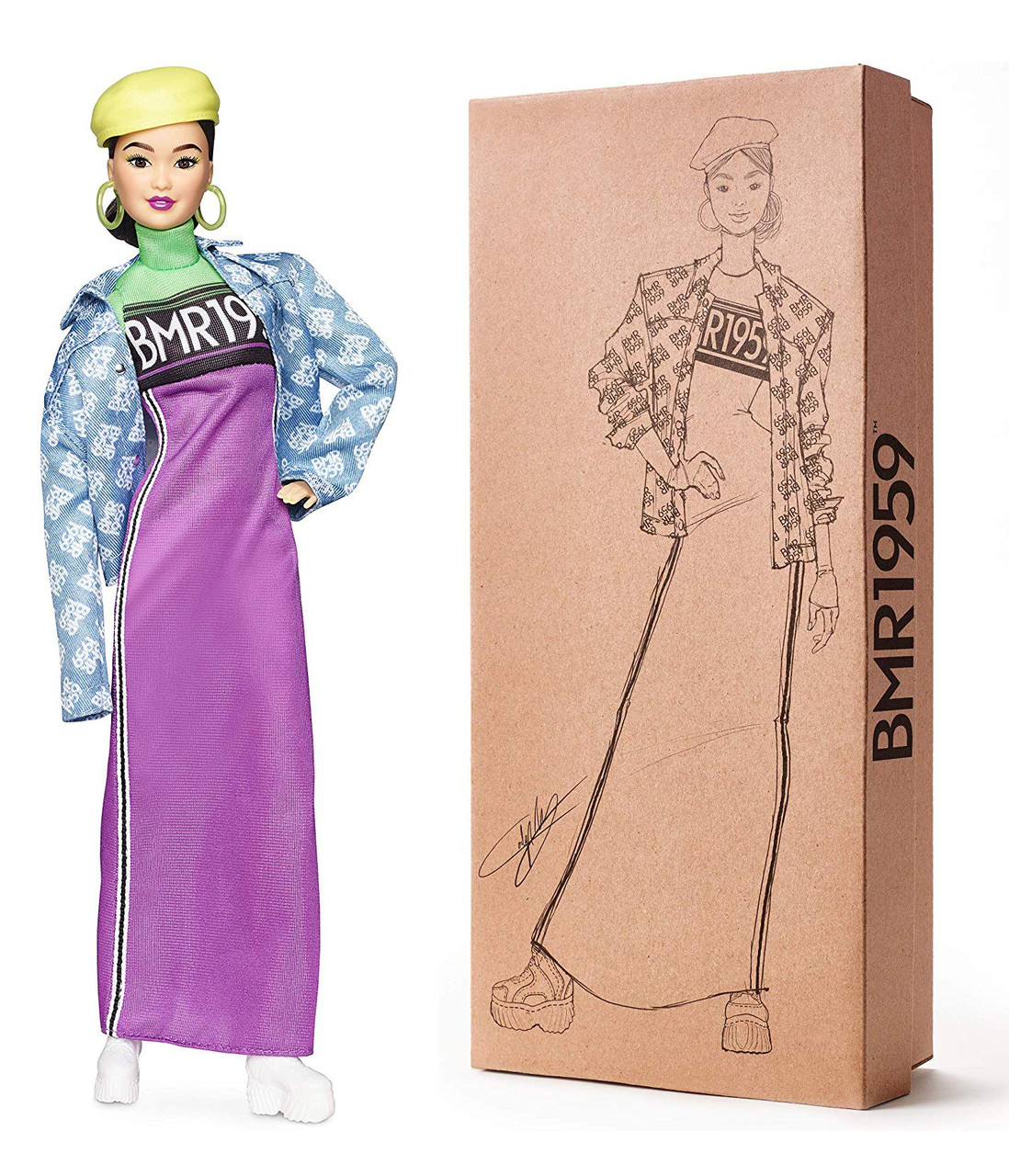 Кукла Барби Barbie BMR1959 Fully Poseable Fashion Doll оригинал от Mattel