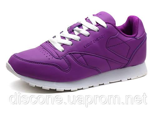 Кроссовки BaaS Light Energy, унисекс, PU кожа, фиолетовые