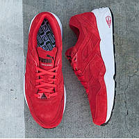 Кроссовки Puma Trinomic R698 Allover Suede(high risk red-white-black)