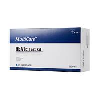 Набор для определения гликированого гемоглобина MultiCare 20 шт. Медаппаратура