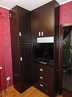 Шкаф-пенал угловой для гостевой, фото 1