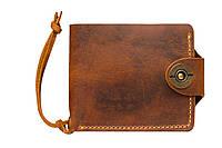 Кошелек, бумажник, портмоне мужской Gato Negro Four Khaki ручной работы