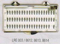РЕСНИЦЫ накладные пучковые 12 мм по 6 шт
