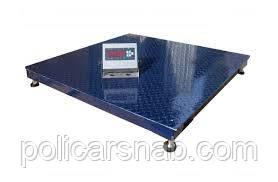 Платформенные весы ЗЕВС-Стандарт ВПЕ-4 (1500х1500 мм), НПВ: 3000 кг