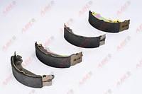Тормозные колодки задние 180x40 ABE C0R016ABE RENAULT CLIO II, 98 -, DACIA LOGAN 1.4 05 - BDX (180x42mm)