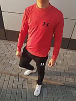 Мужской спортивный костюм в стиле андер армор лого