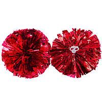 Помпоны для черлидинга и танцев Pom-Poms CH-0352 (d-30см , 1шт, 70г., цвета в ассортименте)