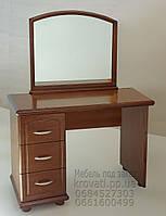 Трюмо деревянное с зеркалом и тумбой tr1.1