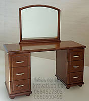 Трюмо деревянное с зеркалом и двумя тумбами tr2.1, фото 1