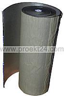 Изолон самоклеющийся фольгированный 4мм, физически сшитый