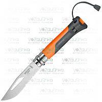 Opinel N°8 Outdoor Tangerine складной нож экстримальщика (001577)