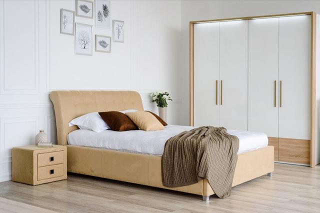 Спальня модульная Кофе Тайм (Embawood) карамель