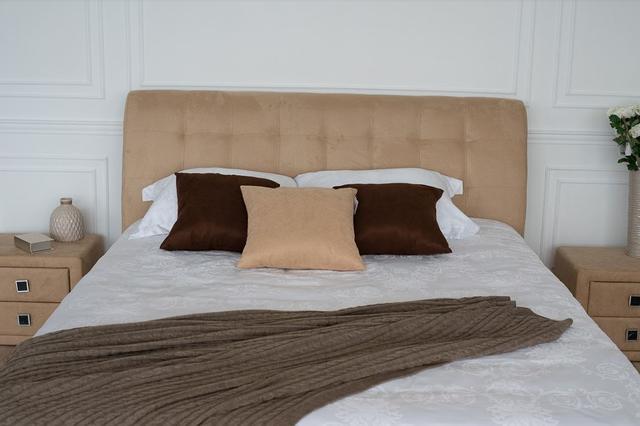 Кровать двуспальная Кофе Тайм (Embawood) карамель (3)