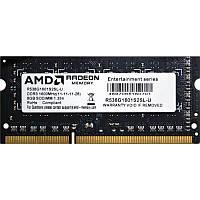 Пам'ять до ноутбука AMD DDR3 8GB 1600 1.35V SO-DIMM